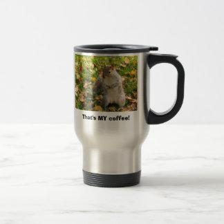Squirrel Travel Coffee Travel Mug
