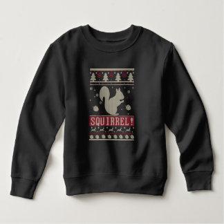 Squirrel Ugly Christmas Sweatshirt