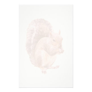 Squirrel Watermark Stationery Design