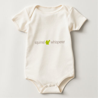 Squirrel Whisperer Baby Bodysuit