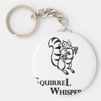 Squirrel Whisperer Key Ring