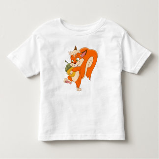 Squirrel with acorn toddler T-Shirt