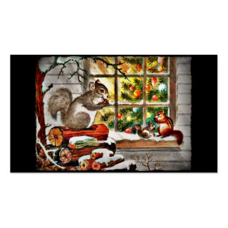 Squirrels at the Window Pack Of Standard Business Cards