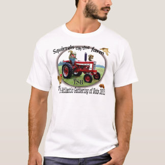 Squirrels on the Farm T-Shirt