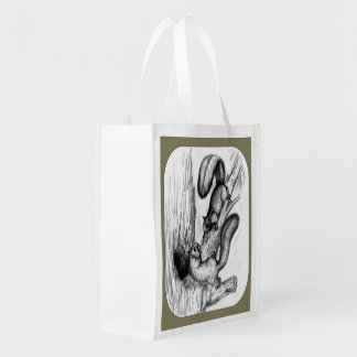 Squirrels Reusable Grocery Bag