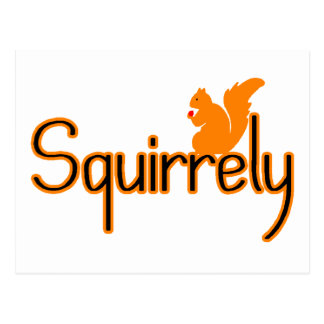 Squirrely Postcards