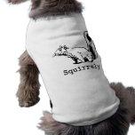 Squirrely Sleeveless Dog Shirt