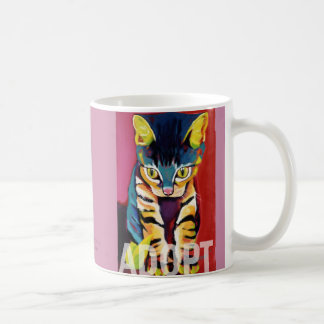 Squirt ADOPT Mug by Ron Burns