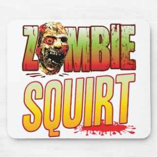 Squirt Zombie Head Mousepad
