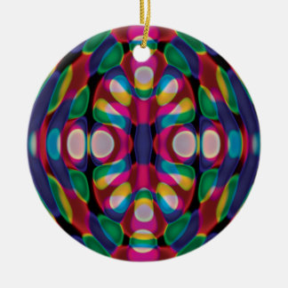 Squished Skittles Ornament