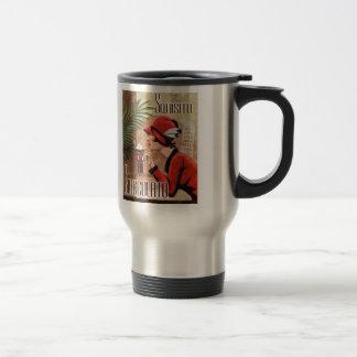 Squisito Cioccolato Italian Chocolate Woman in Red Mug