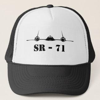 SR71 Blackbird Silhouette Trucker Hat
