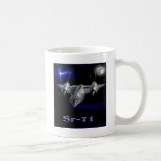 Sr-71 military spy plane coffee mug