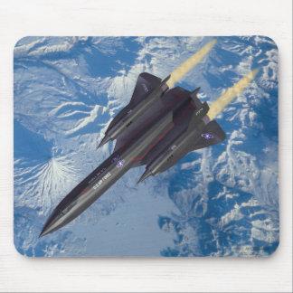 SR-71 over Kamchatka Mouse Pad