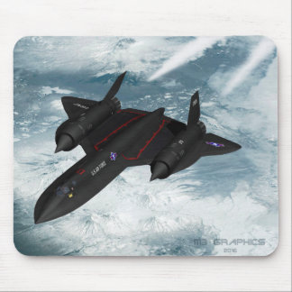 SR-71 over Siberia Mouse Pad