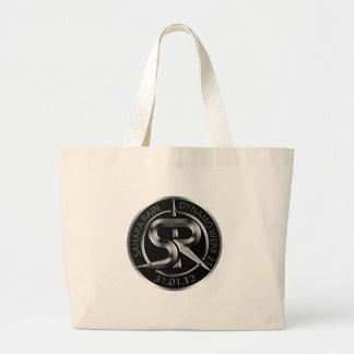 SR Silver emblem Bag