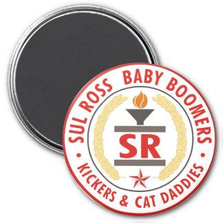 SRBaby Boomer Seal 2007 Fridge Magnets