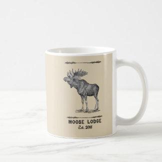 SRBC Moose Lodge Tan Mug est 2018