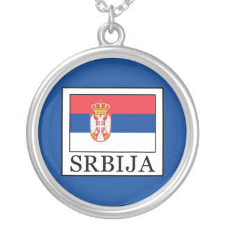 Srbija Silver Plated Necklace