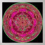 Sri Lakshmi Yantra Mandala