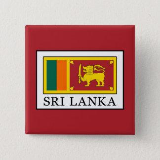Sri Lanka 15 Cm Square Badge