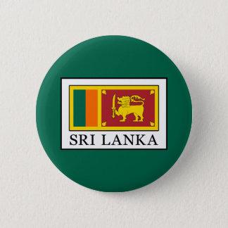 Sri Lanka 6 Cm Round Badge
