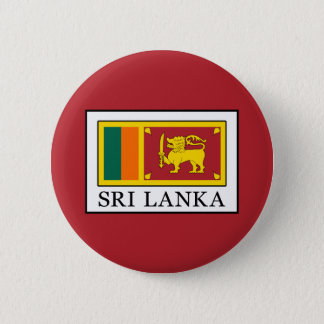 Sri Lanka 6 Cm Round Badge