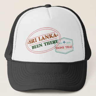 Sri Lanka Been There Done That Trucker Hat