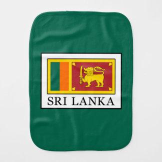 Sri Lanka Burp Cloth