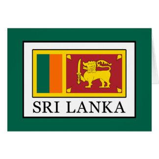 Sri Lanka Card