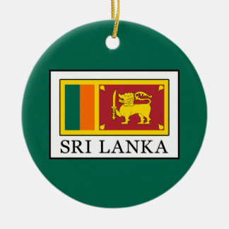 Sri Lanka Ceramic Ornament