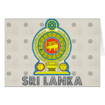 Sri Lanka Coat of Arms Greeting Cards