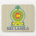 Sri Lanka Coat of Arms Mouse Pad