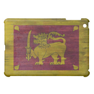 Sri Lanka distressed Sri Lankan flag Case For The iPad Mini