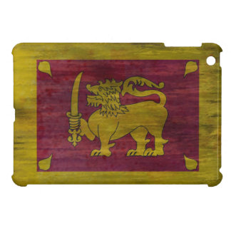 Sri Lanka distressed Sri Lankan flag iPad Mini Cover