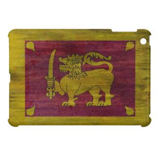 Sri Lanka distressed Sri Lankan flag iPad Mini Cover