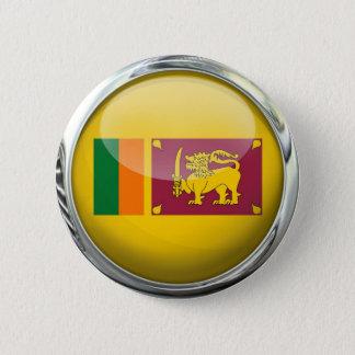 Sri Lanka Flag 6 Cm Round Badge