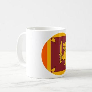 Sri Lanka Flag Coffee Mug