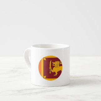 Sri Lanka Flag Espresso Cup