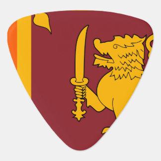 Sri Lanka Flag Guitar Pick