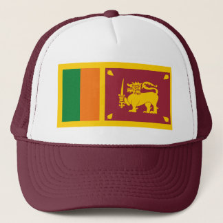 Sri Lanka Flag Hat