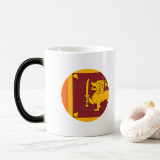 Sri Lanka Flag Magic Mug