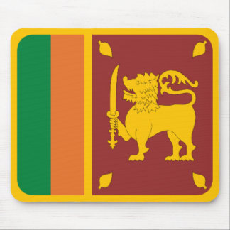 Sri Lanka Flag Mousepad