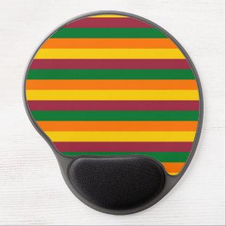 Sri Lanka flag stripes lines colors pattern Gel Mouse Pad