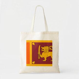 Sri Lanka Flag Tote Bag