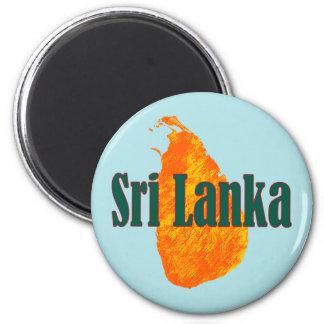 Sri Lanka Fridge Magnet