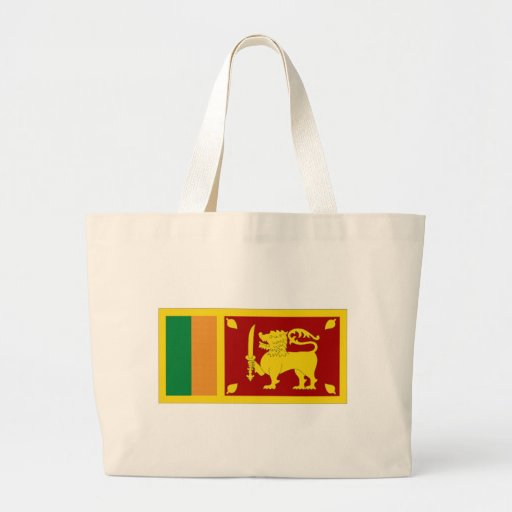 Sri Lanka National Flag Tote Bag