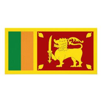 Sri Lanka National Flag Photo Greeting Card