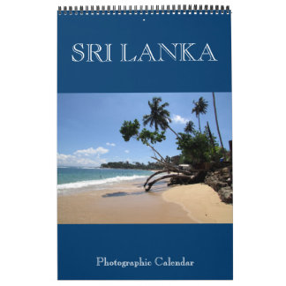 sri lanka photography wall calendars