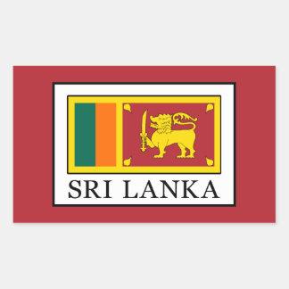 Sri Lanka Rectangular Sticker